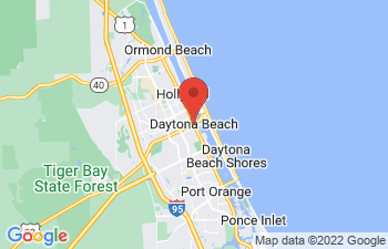 Map of Daytona Beach