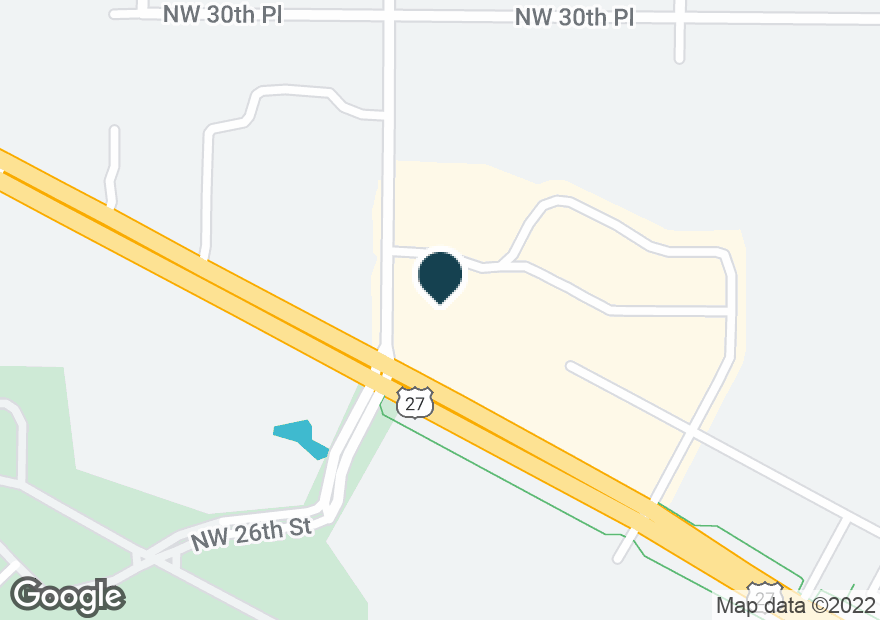 Google Map of4899 NW BLITCHTON RD