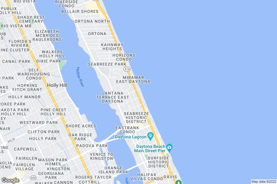 Daytona Beach Parking Pass