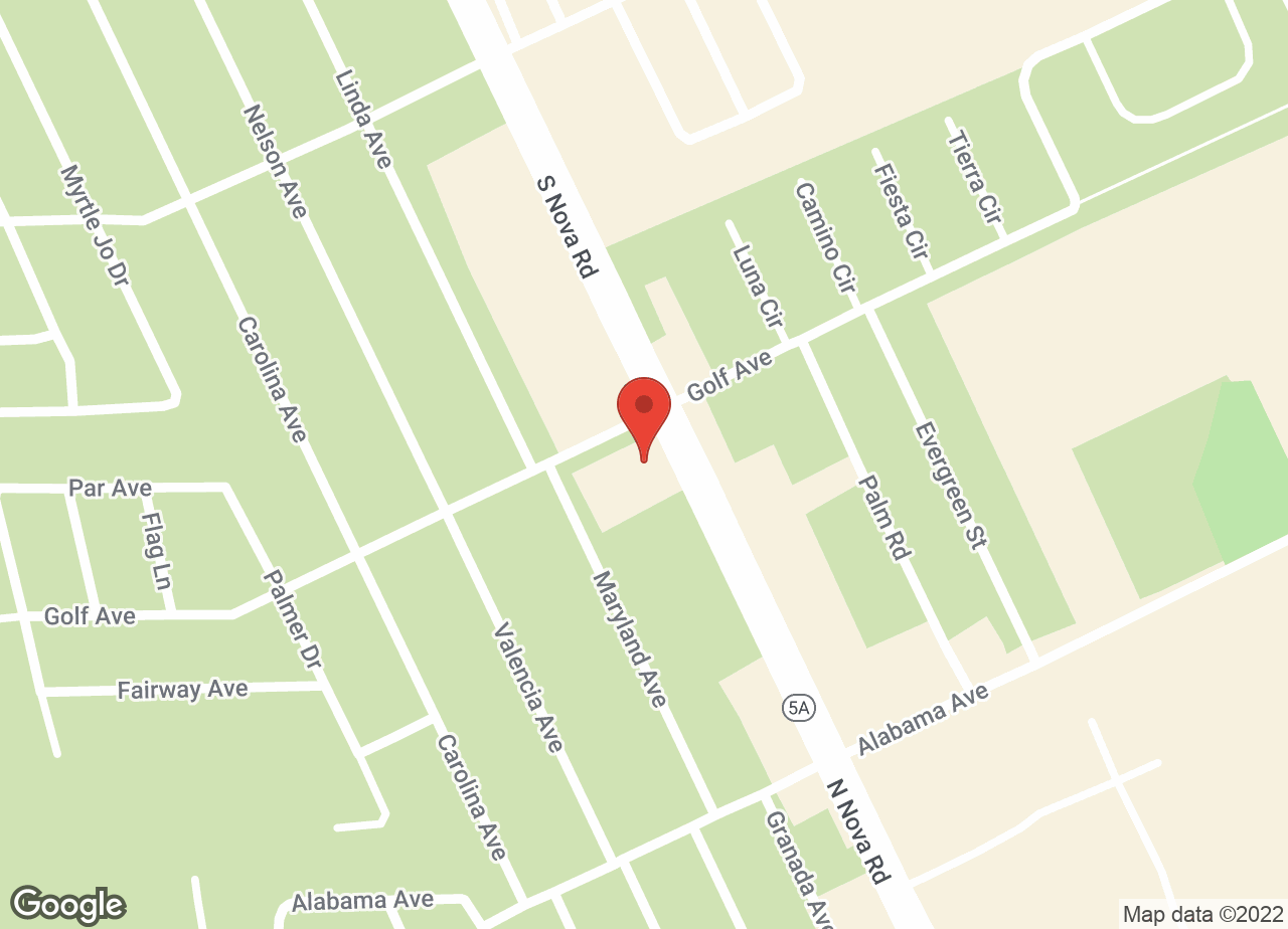 Google Map of VCA Newman Ormond Beach Animal Hospital