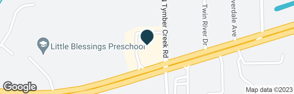 Google Map of2001 W GRANADA BLVD