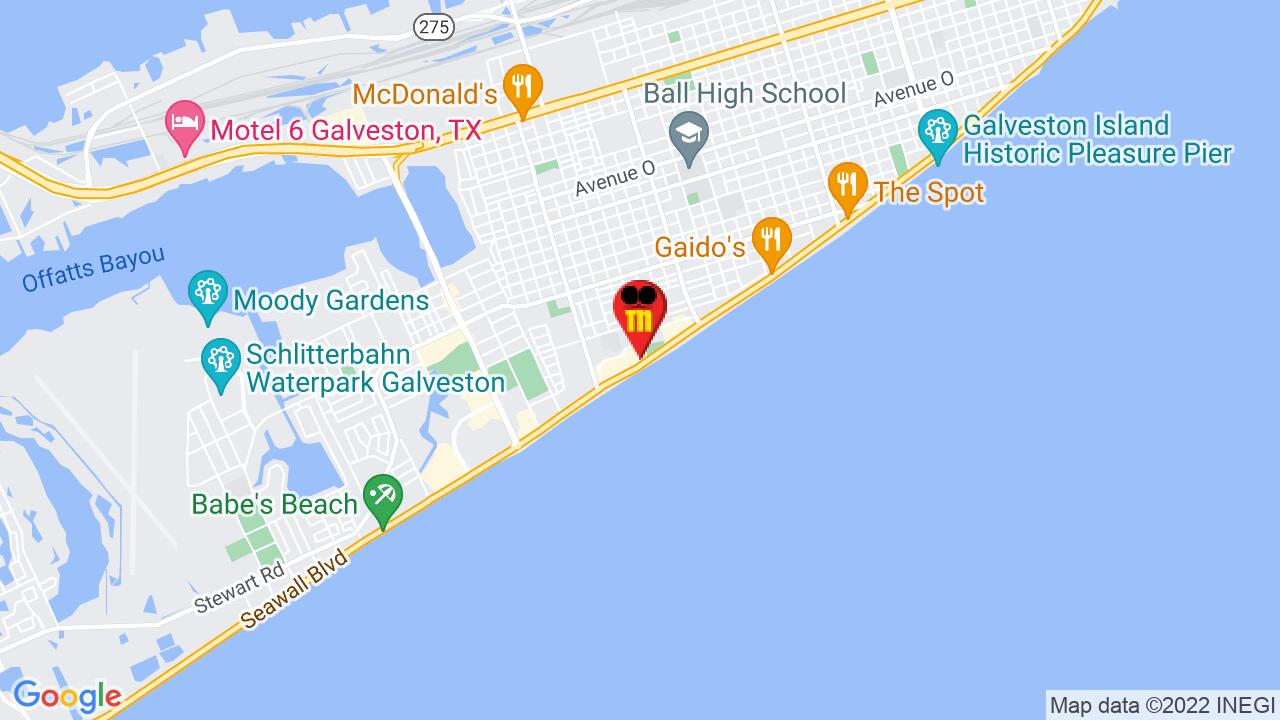 Google Map of Galveston Pest Control