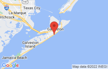 Map of Galveston