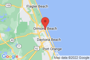 Map of Ormond Beach
