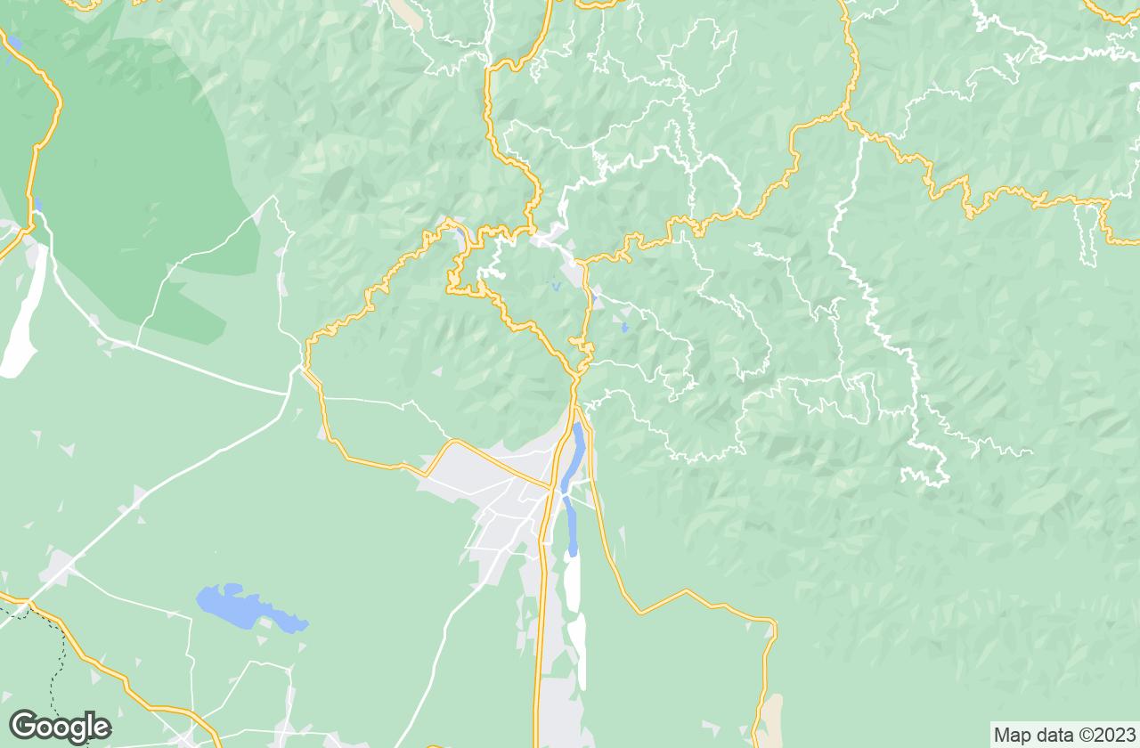 Google Map of Kathgodam