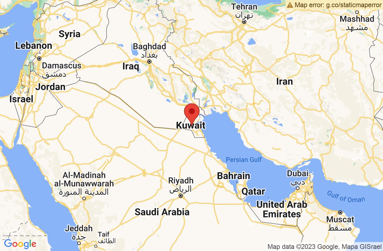 Google Map of مدينة الكويت