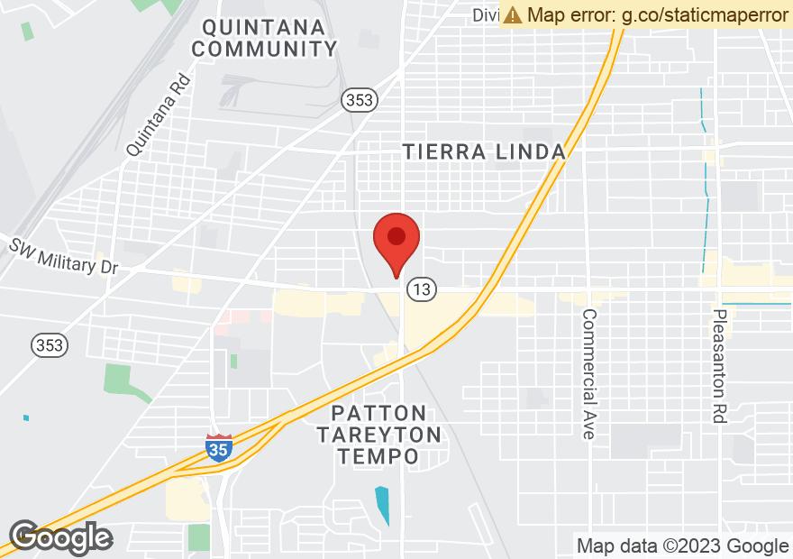Google Map of 7019 S ZARZAMORA ST