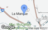Map of La Marque, TX