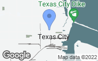 Map of Texas City, TX