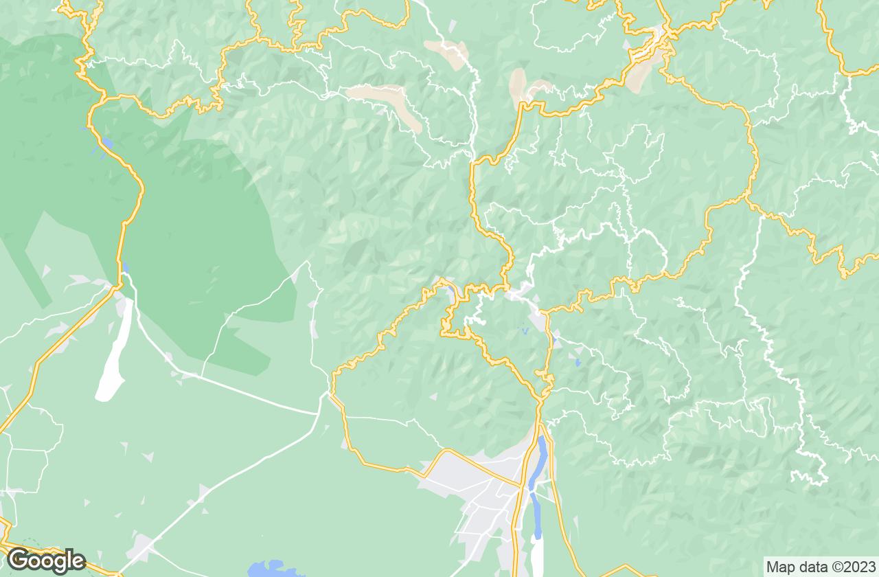 Google Map of ناينيتال