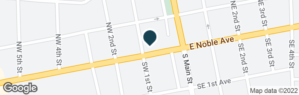Google Map of8 NW MAIN ST