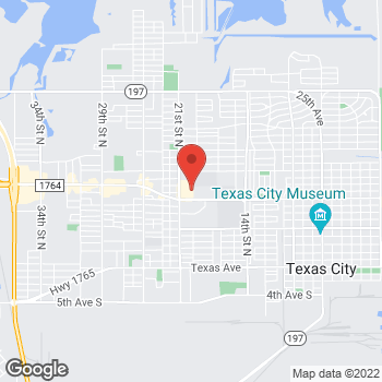 Map of Citi Trends at 1006 20th Street N, Texas City, TX 77590