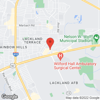 Map of Arby's at 6818 Military Dr W, San Antonio, TX 78227