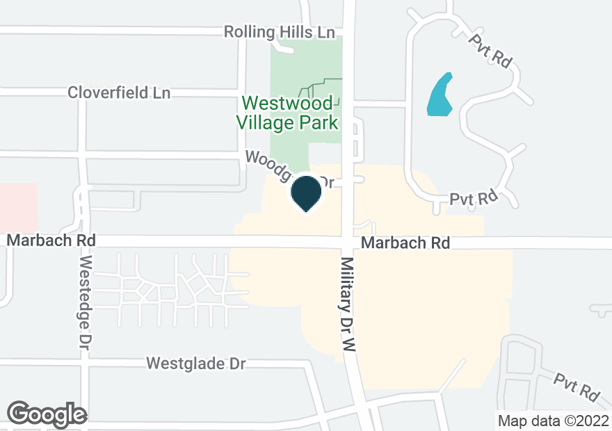 Google Map of7103 MARBACH RD
