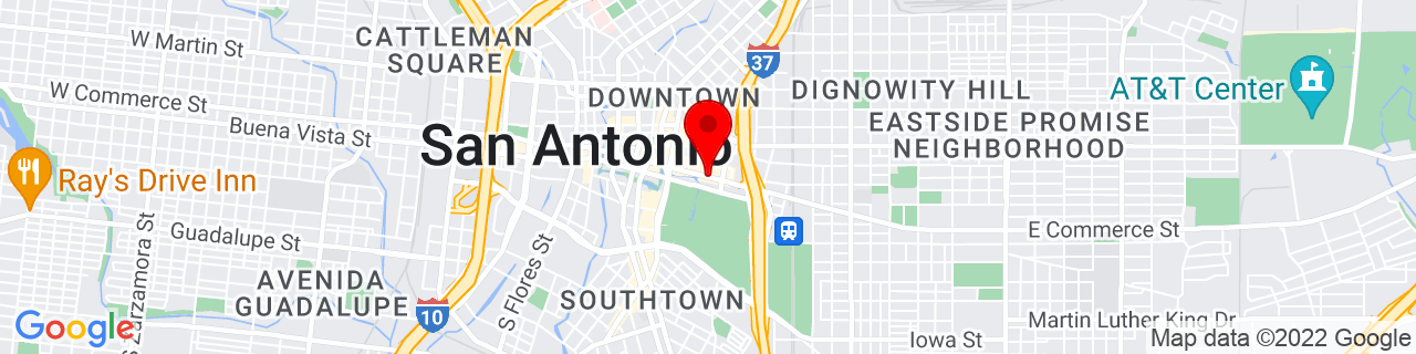 Google Map of 29.4229971, -98.48433949999999