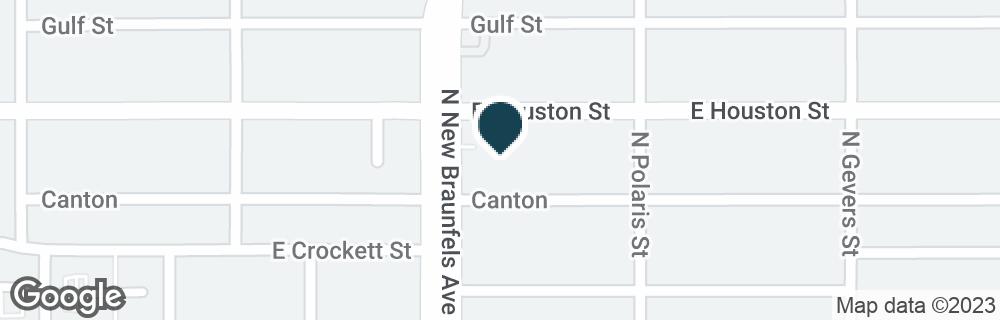 Google Map of2200 E HOUSTON ST