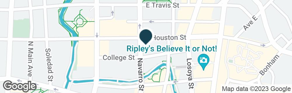 Google Map of300 E HOUSTON ST