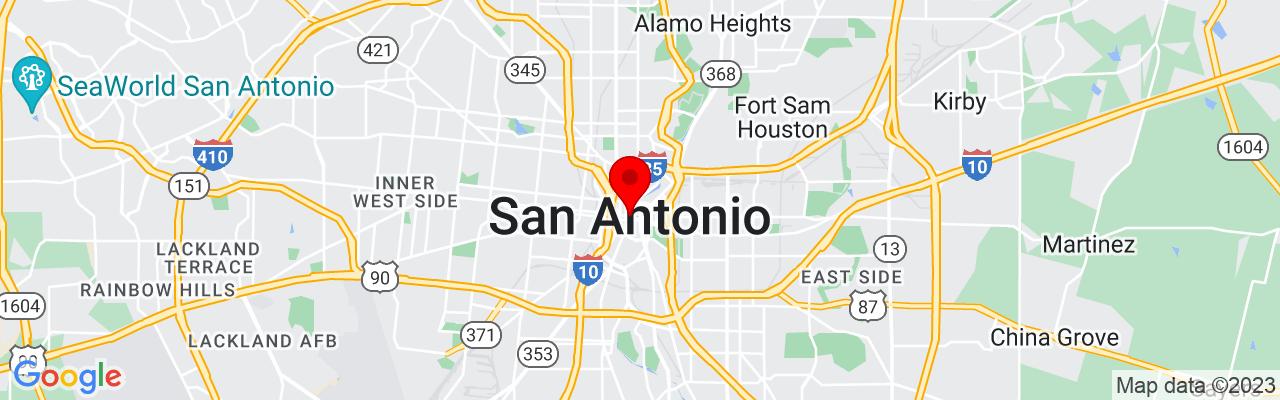 Google Map The Detailing Syndicate - San Antonio TX, 700 N St Mary's St, San Antonio, TX 78205, UNITED STATES, 29.430316666667,-98.490843888889