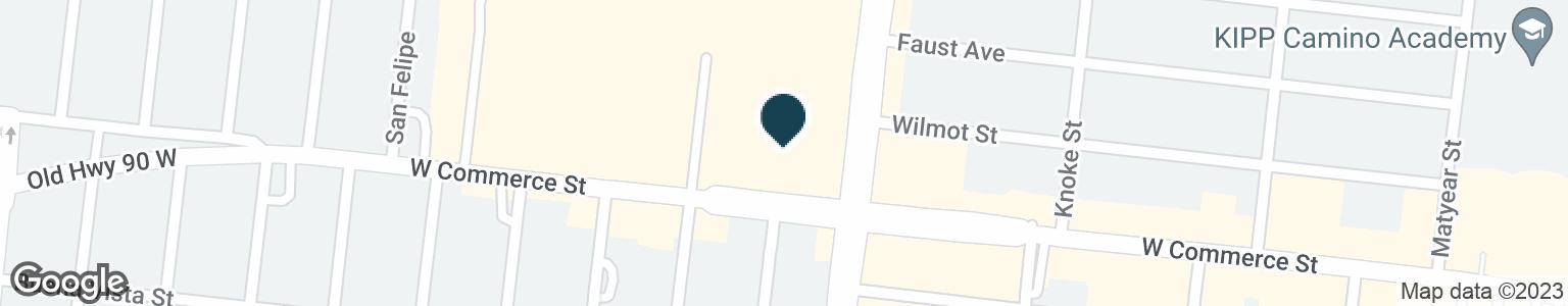 Google Map of4703 W COMMERCE ST