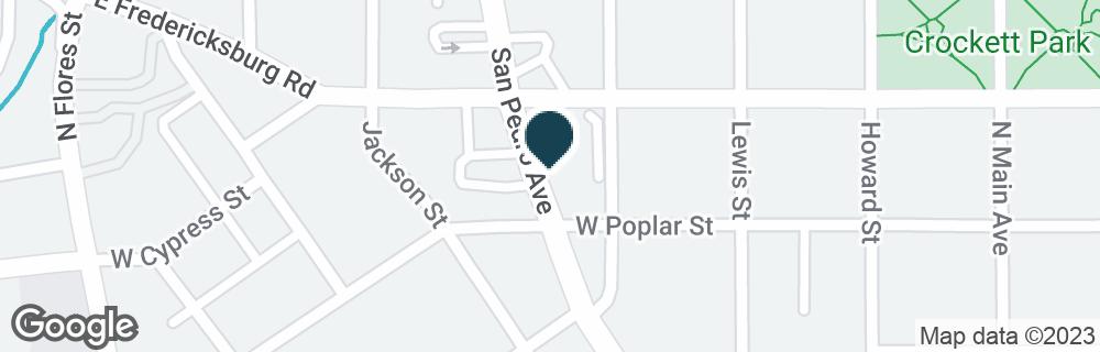 Google Map of410 W CYPRESS ST