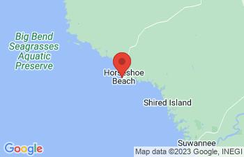 Map of Horseshoe Beach