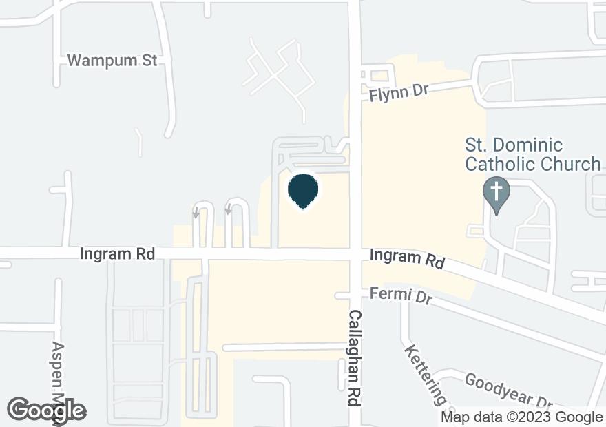 Google Map of6017 INGRAM RD