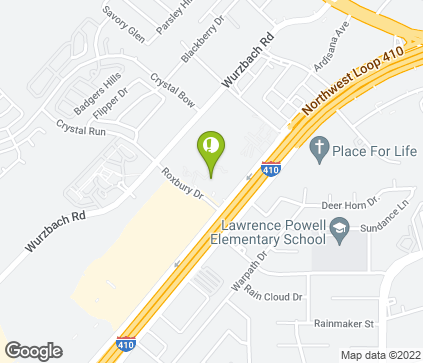 Map of 5841 NW Loop 410 in San Antonio