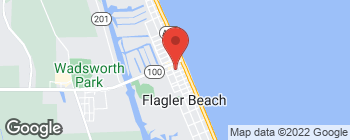 Mapa de 213 S 2nd St en Flagler Beach