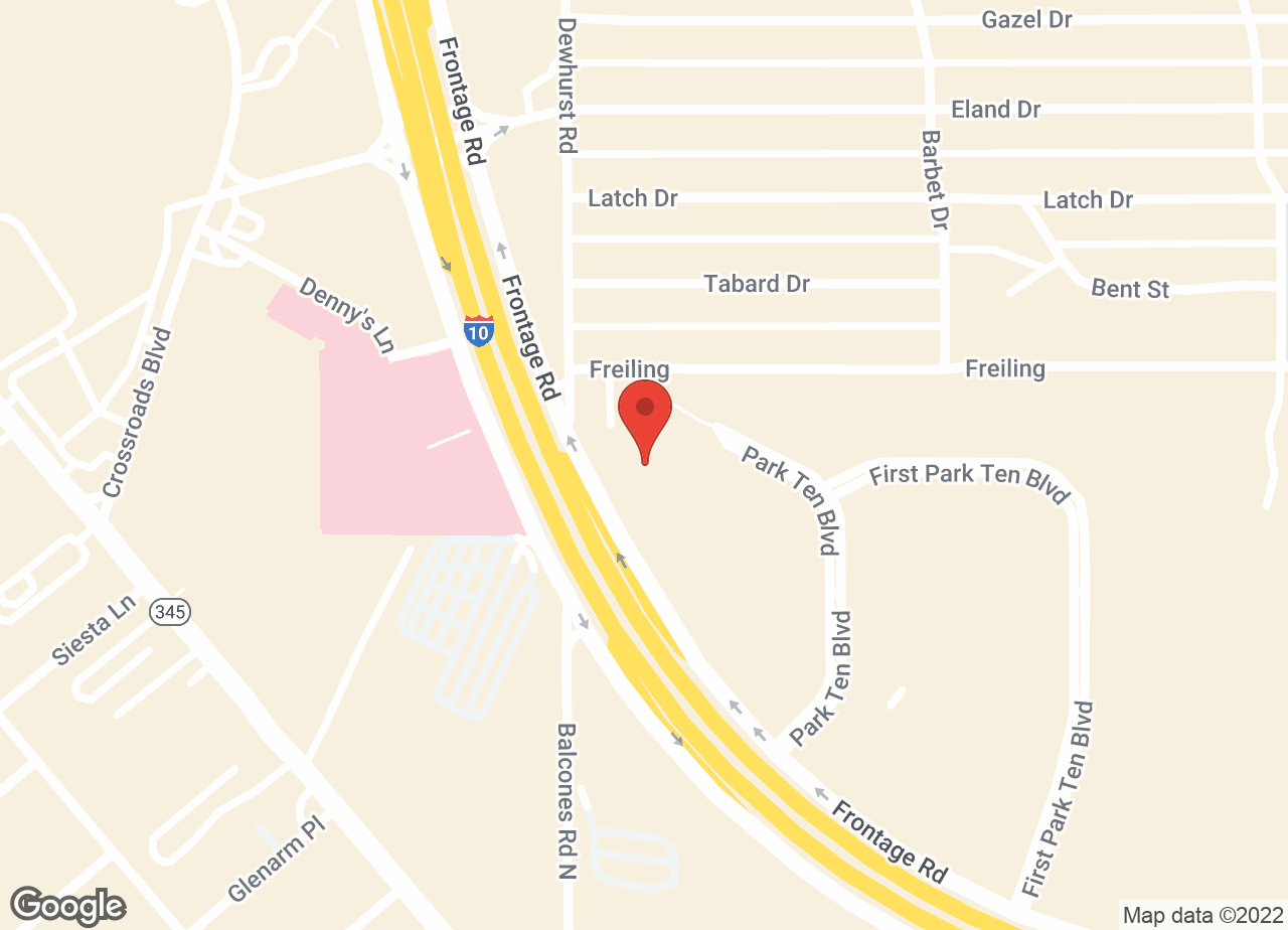 Google Map of VCA Becker Animal Hospital