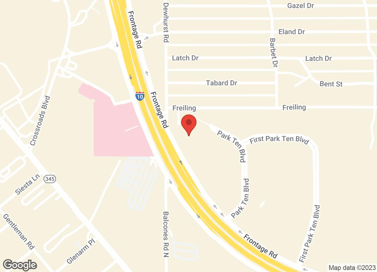 Google Map of VCA Becker Animal Hospital