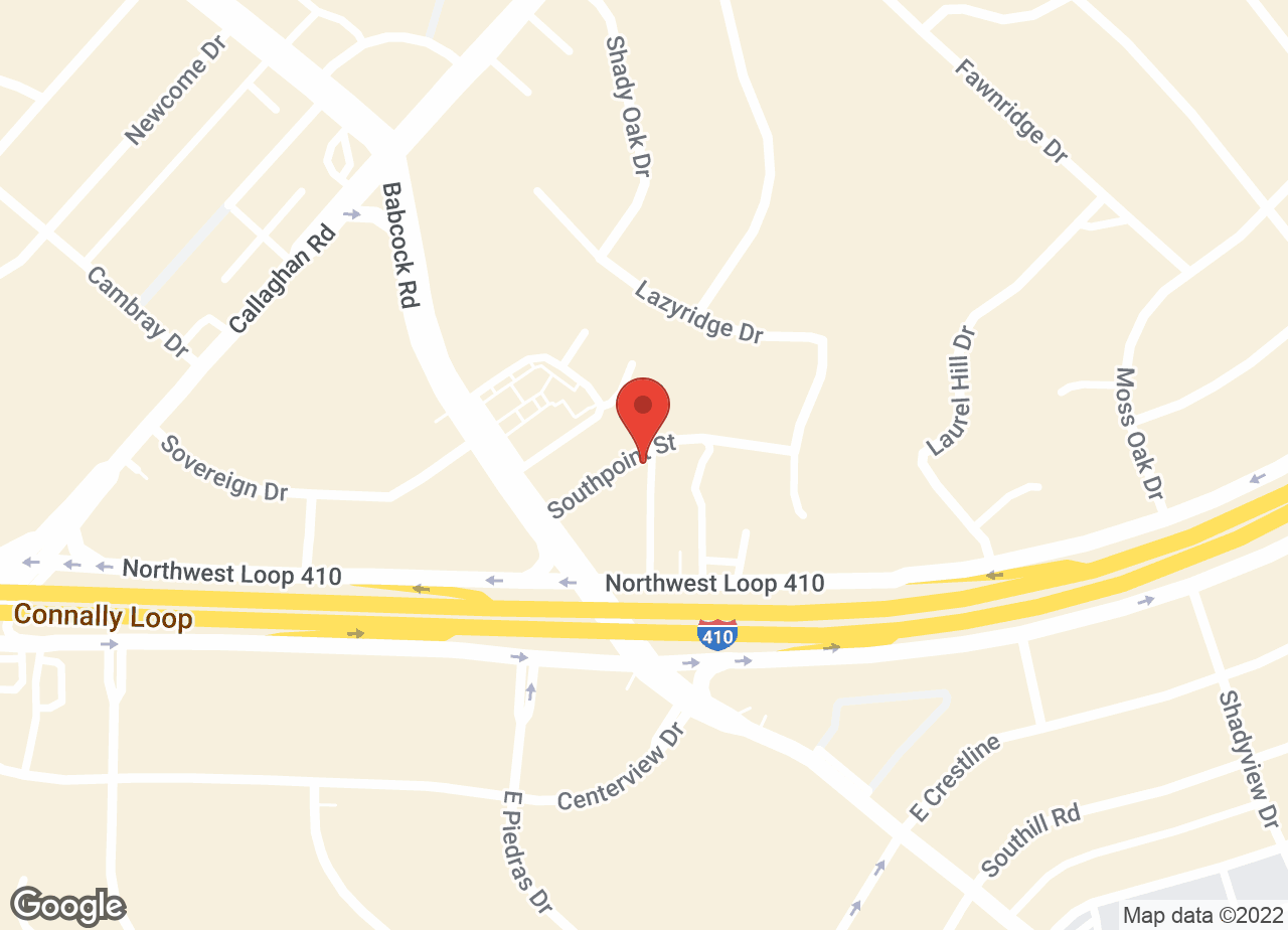 Google Map of VCA Oak Hills Animal Hospital