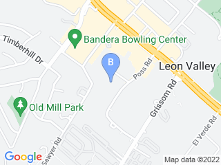 Map of San Antonio Dog Training Co. Dog Boarding options in San Antonio | Boarding