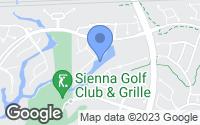 Map of Sienna Plantation, TX