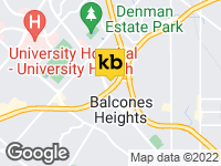 View Map of the design studio in San Antonio / New Braunfels, TX