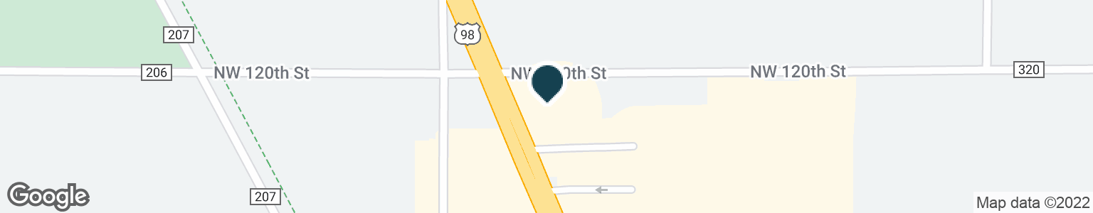 Google Map of2227 N YOUNG BLVD