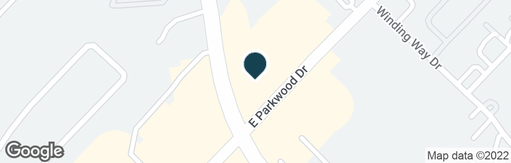 Google Map of104 E PARKWOOD AVE