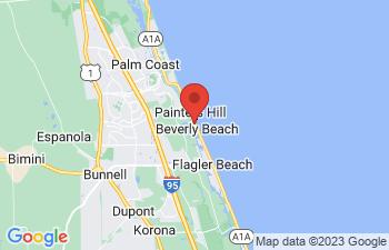 Map of Flagler Beach