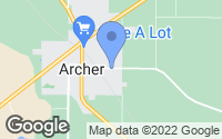 Map of Archer, FL