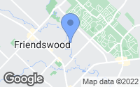 Map of Friendswood, TX