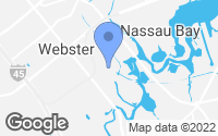Map of Webster, TX