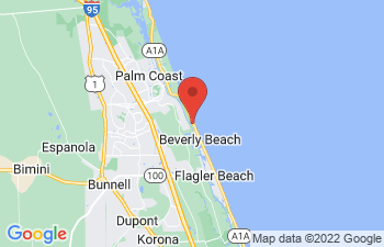 Map of Flagler Beach