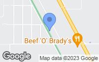 Map of Trenton, FL