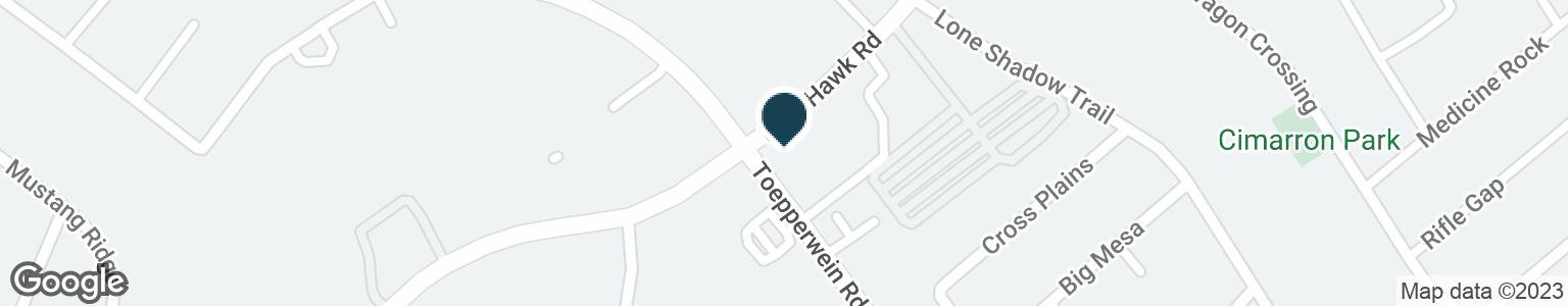 Google Map of10650 TOEPPERWEIN RD