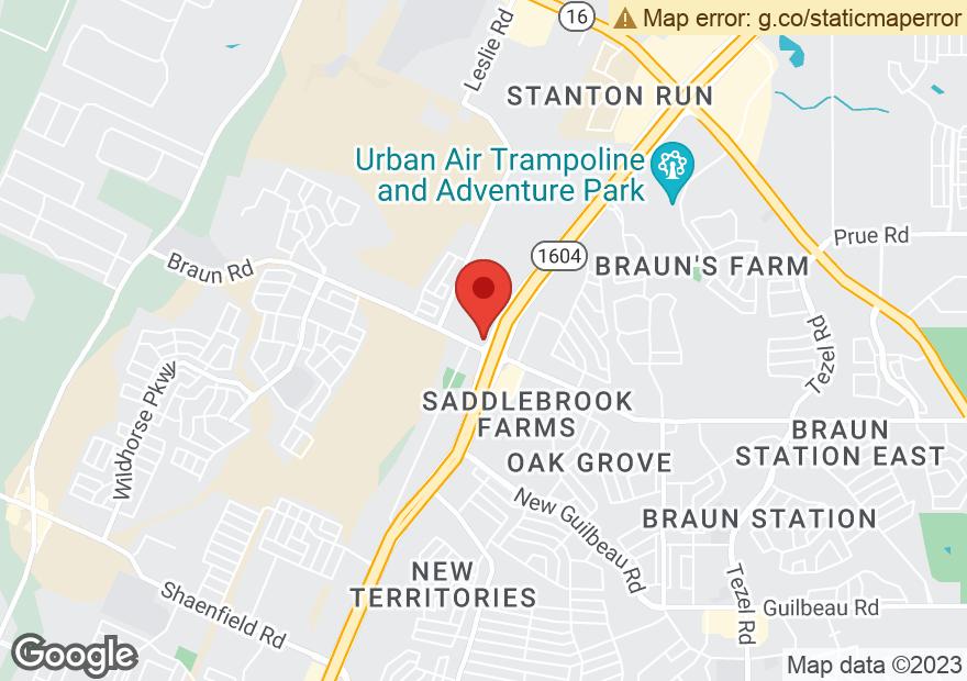 Google Map of 10003 W LOOP 1604 N