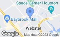Map of Webster, TX