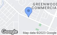 Map of Rosenberg, TX