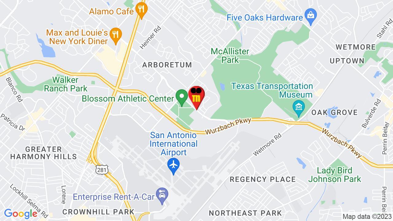 Google Map of San Antonio Pest Control