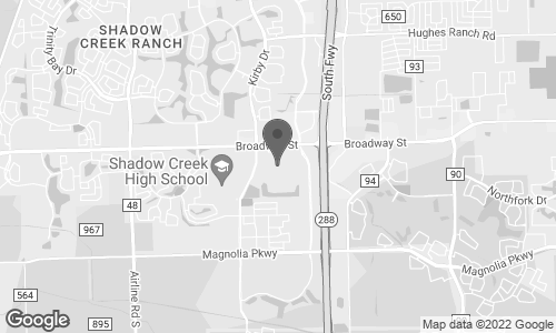Map of 11200 Broadway Street in Pearland