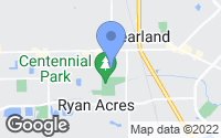 Map of Pearland, TX