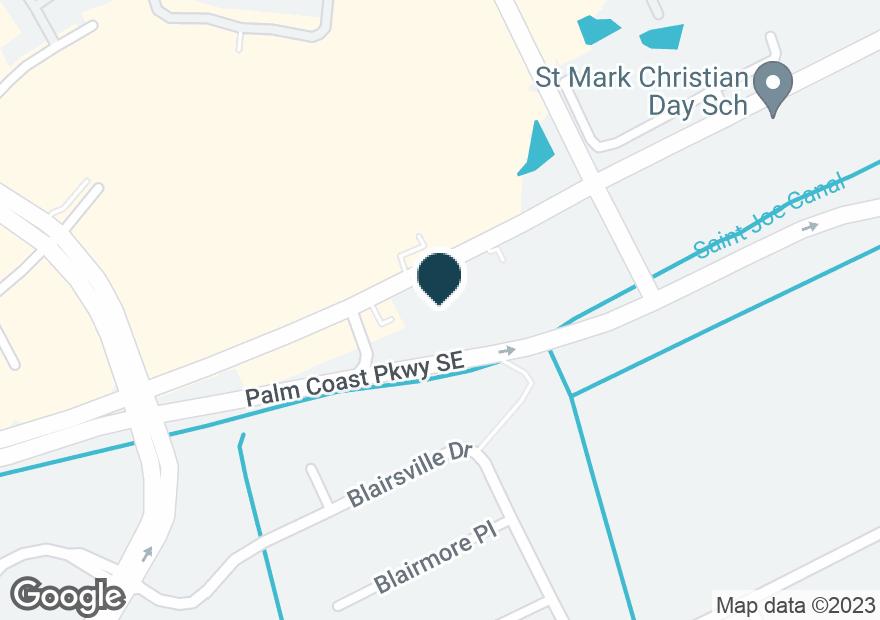 Google Map of215 PALM COAST PKWY NE